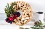 Vianočný korkový veniec