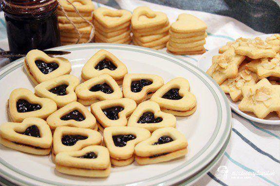 Vianočné linecké koláčiky