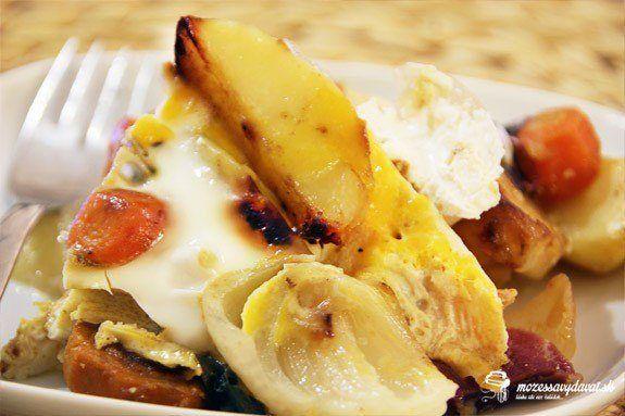 Francúzske zemiaky na panvici