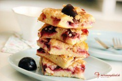 Šťavnatý slivkový koláč