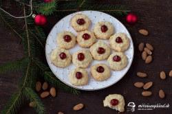 Mandľové sušienky bez múky