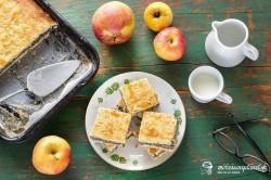 Jablkovo-makové pité