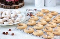 Lieskovcové vanilkové rožteky