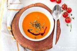 Tekvicovo-paradajková polievka