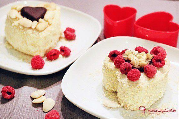 Valentínske mandľové tortičky