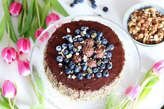 Multi-orechová torta bez múky