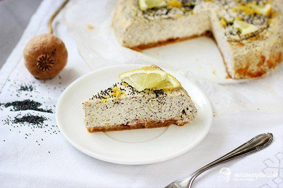 Makovo-citrónový cheesecake