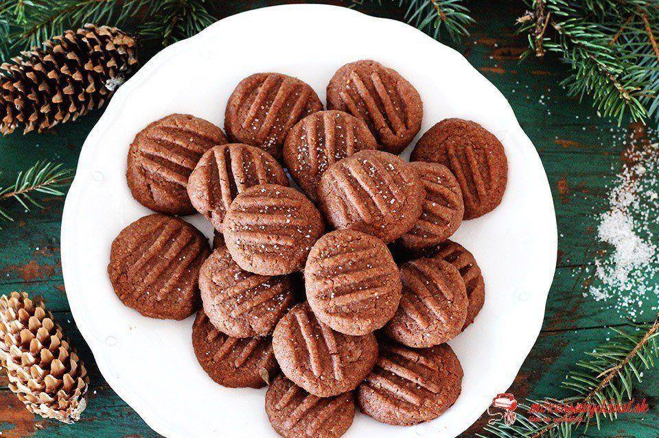Kokosovo-kakaové sušienky