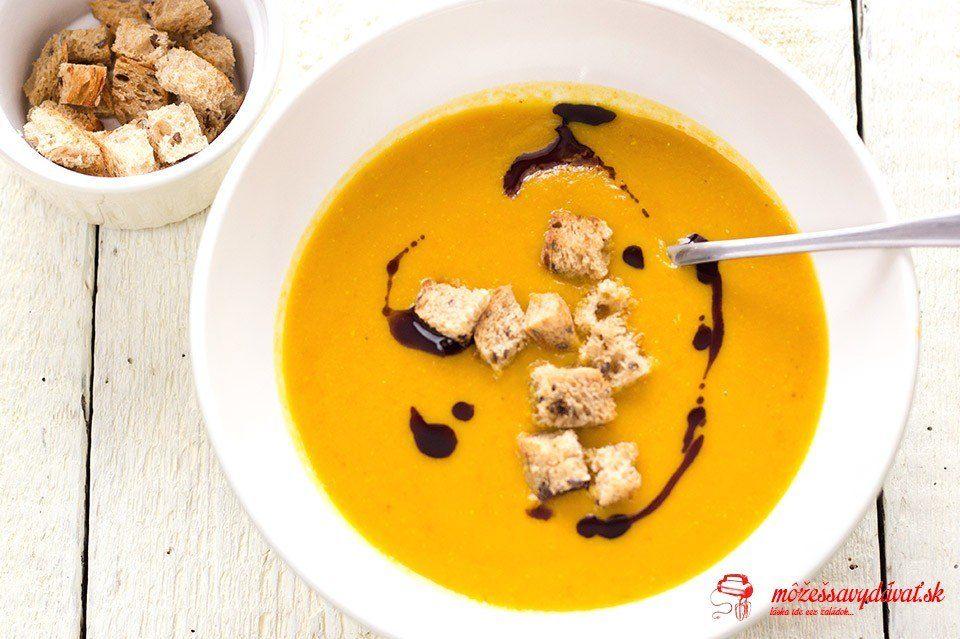 Šošovicovo-tekvicová polievka