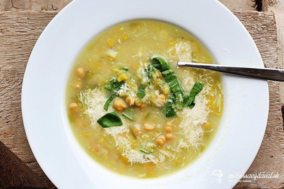 Pórovo-cícerová polievka podľa Jamieho