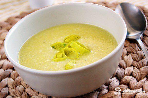 Pórovo-zemiaková polievka