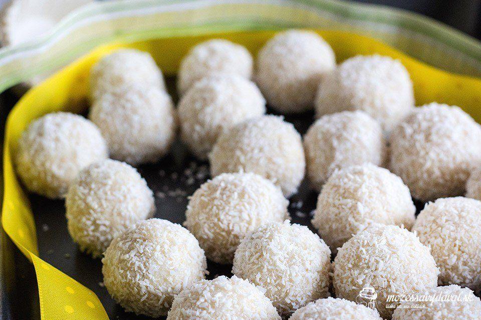 Kokosové guľky v štýle Raffaelo
