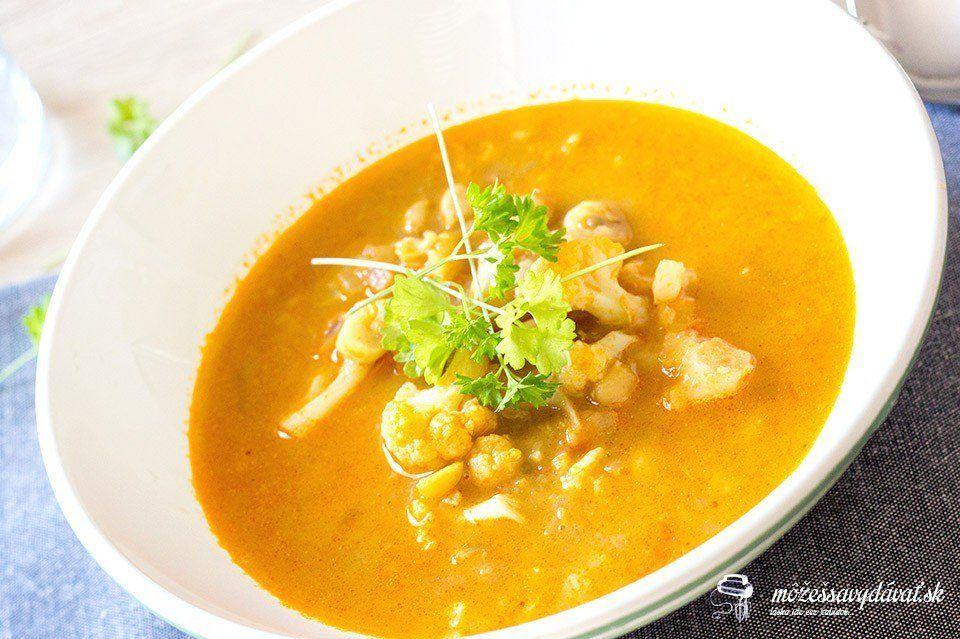 Cícerovo-karfiolová polievka