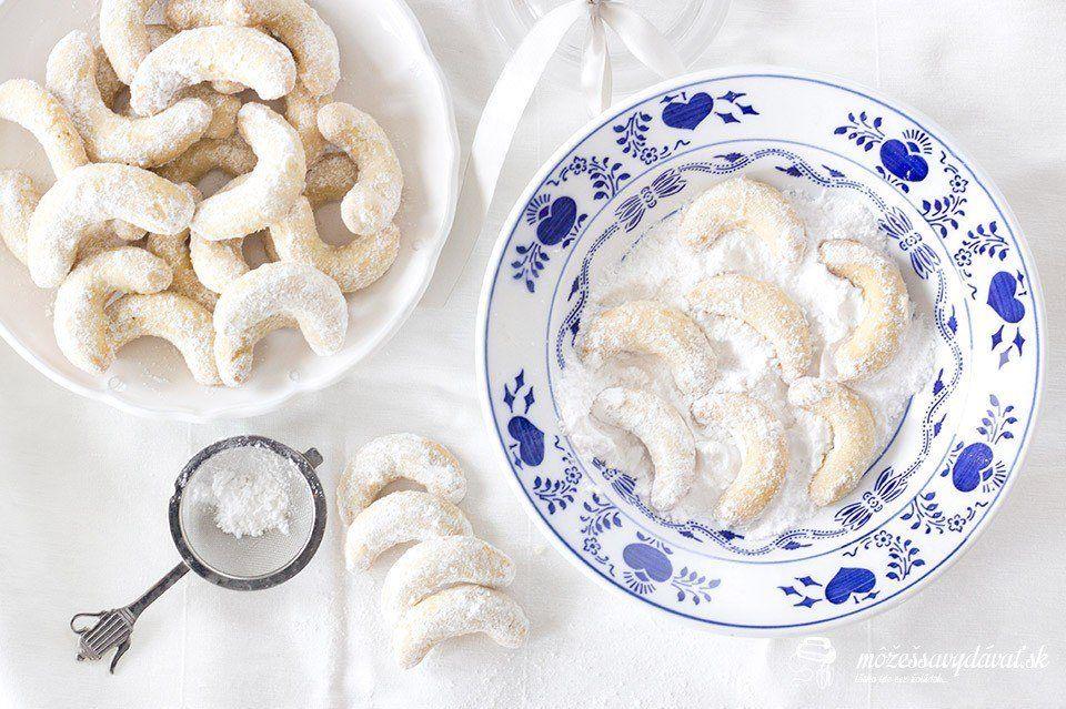 Mandľové vanilkové rožteky