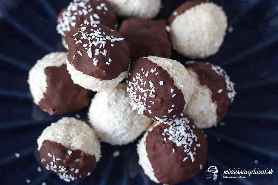 Vegánske kokosové guľky