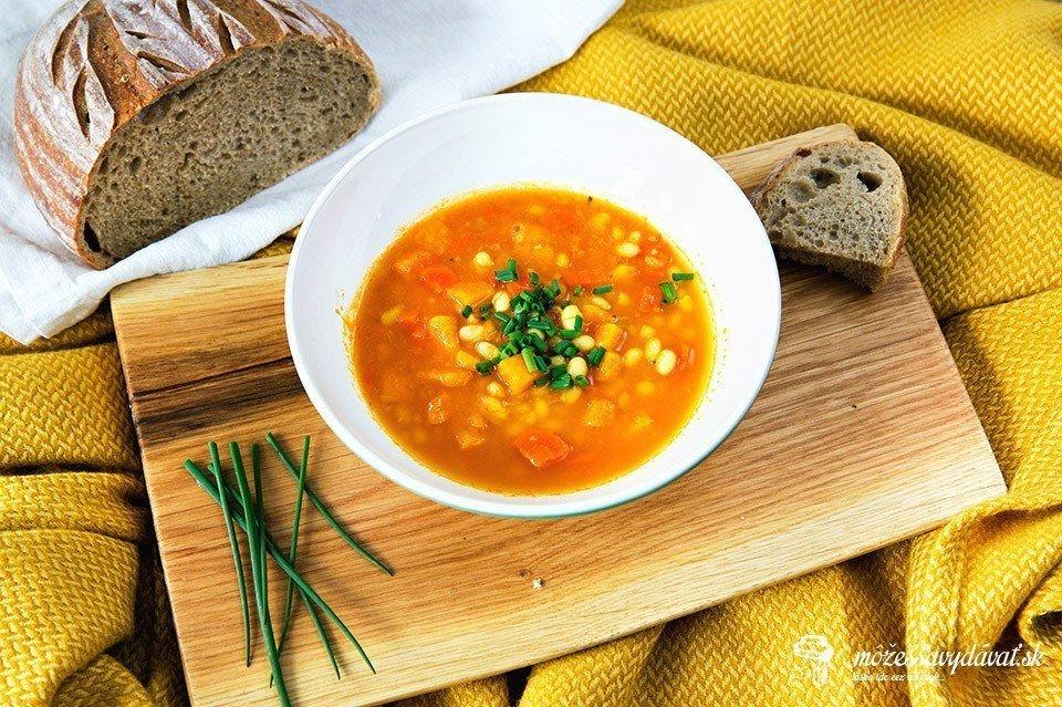 Vegánska fazuľová polievka