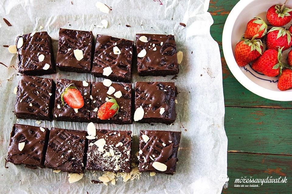 Cícerové brownies
