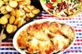 Kuracie prsia s baklažánom a mozzarelou