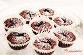 Cviklovo-čokoládové muffiny
