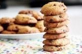 Cookies s arašidovým maslom a čokoládou