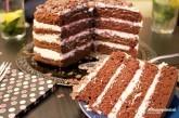 Nahá kakaovo-vanilková torta