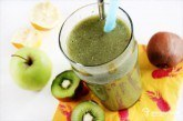 Zelené smoothie s chia semienkami