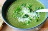 Zelený zeleninový krém