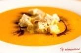 Tekvicovo-mrkvový krém so zázvorom