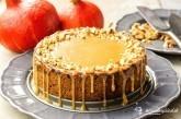 Tekvicový cheesecake so slaným karamelom