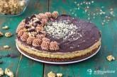 Orechovo-rumová torta opitý Izidor
