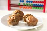 Hruškové muffiny s karobom