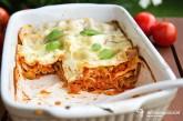 Vegetariánske lasagne á la Bolognese